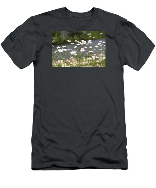 Mickelson Trail Daisies Men's T-Shirt (Athletic Fit)