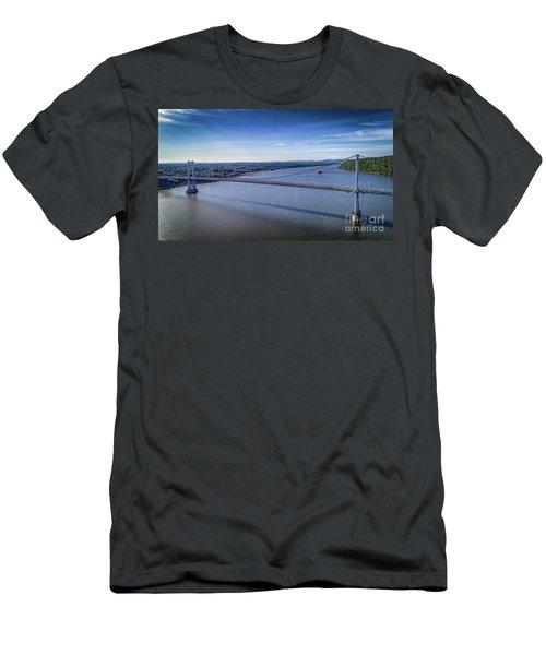 Mid-hudson Bridge In Spring Men's T-Shirt (Athletic Fit)