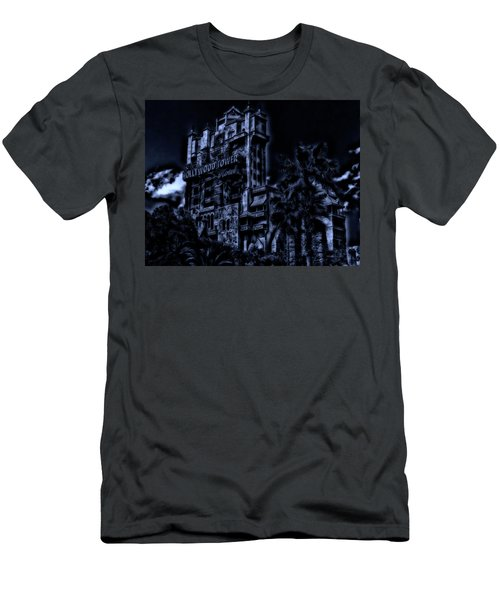 Midnight At The Tower Of Terror Mp Men's T-Shirt (Slim Fit) by Thomas Woolworth