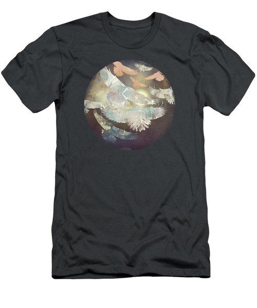 Midnight Flight Men's T-Shirt (Athletic Fit)