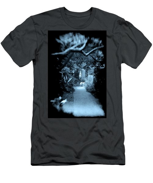 Men's T-Shirt (Athletic Fit) featuring the photograph Midnight In The Garden O by Jennifer Wright