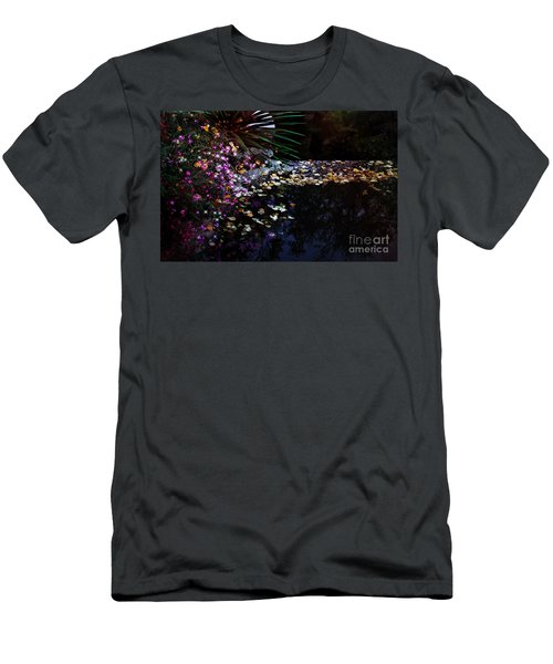 Midnight Oasis Men's T-Shirt (Athletic Fit)