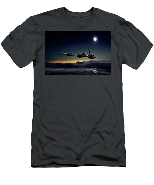 Midnight Rider Men's T-Shirt (Athletic Fit)