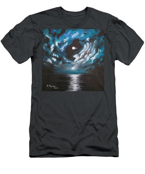Midnight Shine  Men's T-Shirt (Athletic Fit)