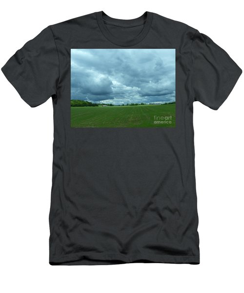 Midwestern Sky Men's T-Shirt (Athletic Fit)