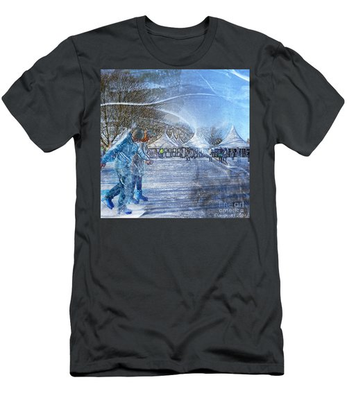 Midwinter Blues Men's T-Shirt (Athletic Fit)