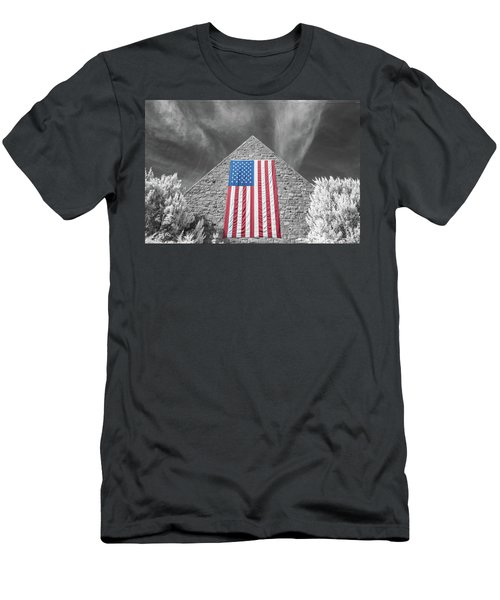 Men's T-Shirt (Athletic Fit) featuring the photograph Military Vision 2 by Brian Hale
