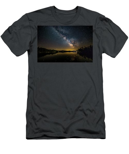 Milky Way At Hunter Cover Men's T-Shirt (Athletic Fit)