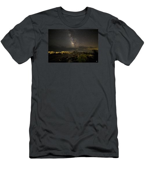 Milky Way At Pemaquid 2 Men's T-Shirt (Athletic Fit)