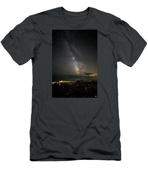 Milky Way At Pemaquid Men's T-Shirt (Athletic Fit)