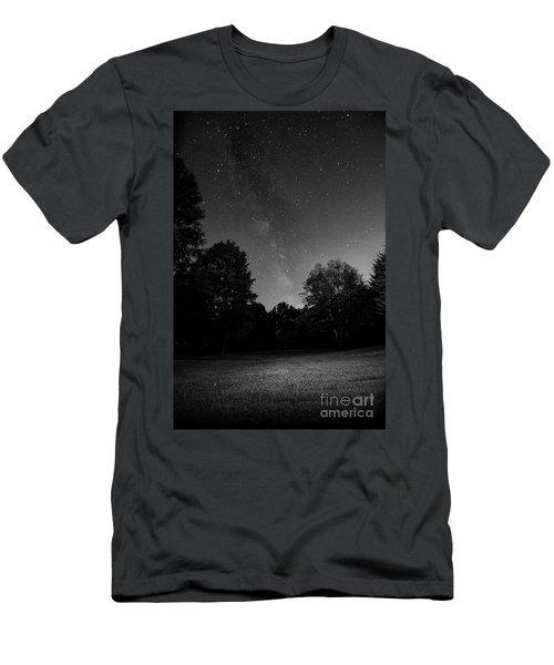 Milky Way Men's T-Shirt (Slim Fit) by Brian Jones