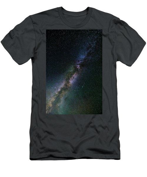Men's T-Shirt (Athletic Fit) featuring the photograph Milky Way Core by Bryan Carter