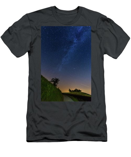 Men's T-Shirt (Athletic Fit) featuring the photograph Milky Way by Davor Zerjav