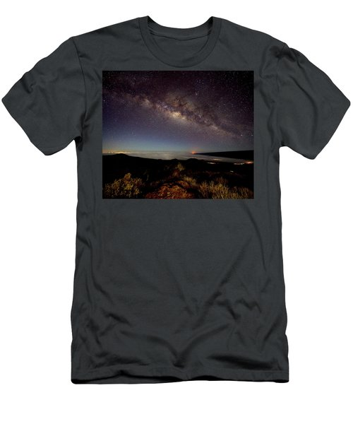 Milky Way From Mauna Kea Men's T-Shirt (Athletic Fit)