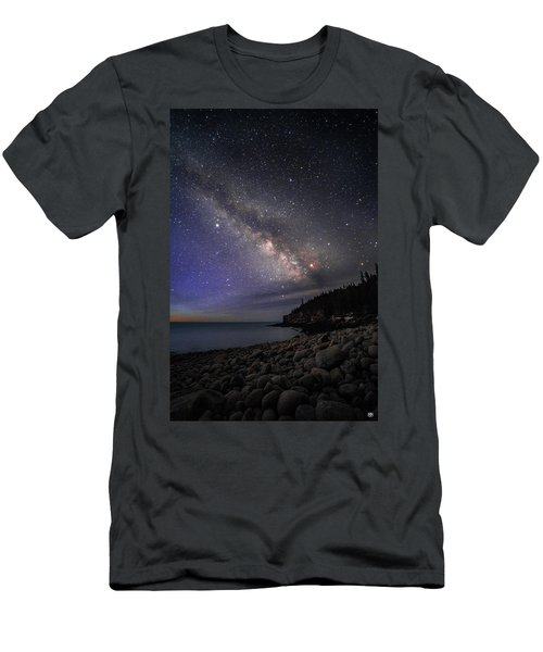 Milky Way Over Boulder Beach Men's T-Shirt (Athletic Fit)