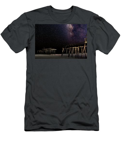 Milky Way Over Frisco Men's T-Shirt (Athletic Fit)