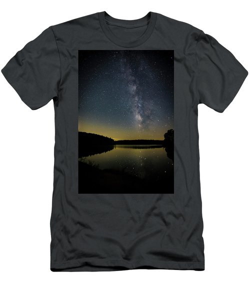 Milky Way Over Price Lake Men's T-Shirt (Athletic Fit)
