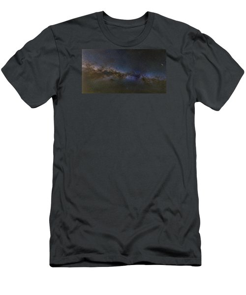 Milky Way South Men's T-Shirt (Slim Fit) by Charles Warren