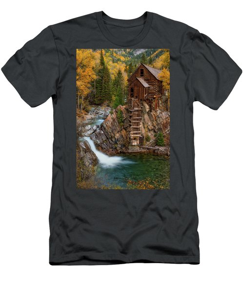 Mill In The Mountains Men's T-Shirt (Athletic Fit)