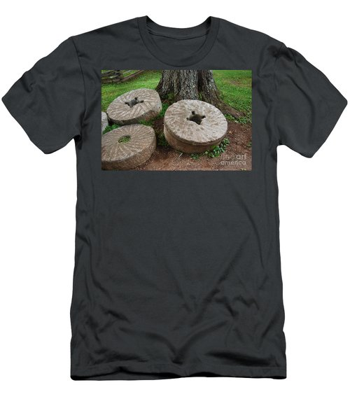 Men's T-Shirt (Slim Fit) featuring the photograph Mill Stone by Eric Liller