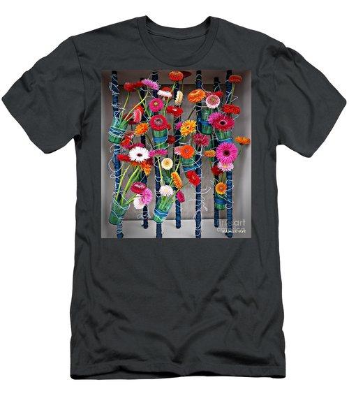 Millefiori Men's T-Shirt (Athletic Fit)