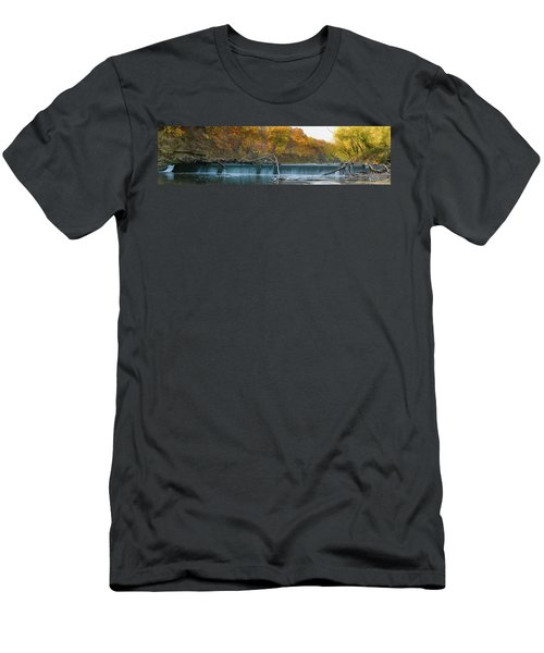Miller's Dam Pano Men's T-Shirt (Athletic Fit)