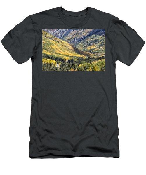 Million Dollar Highway Men's T-Shirt (Athletic Fit)