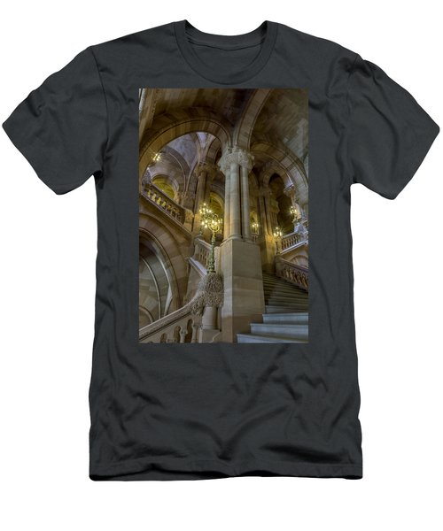 Million Dollar Staircase Men's T-Shirt (Athletic Fit)