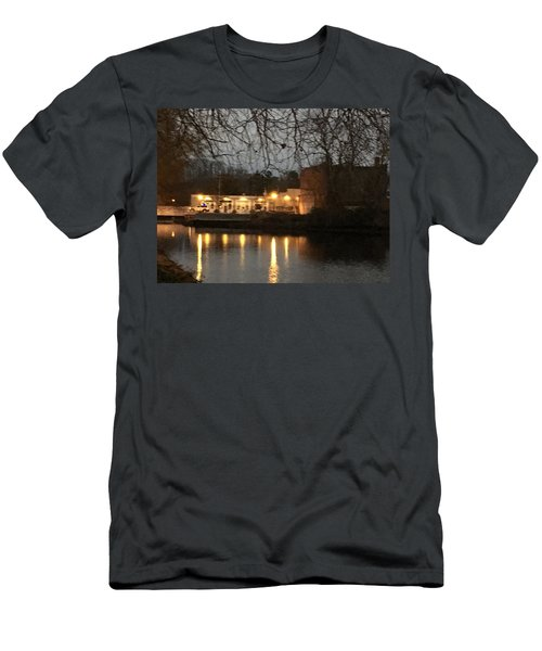 Milton On The Water Men's T-Shirt (Athletic Fit)