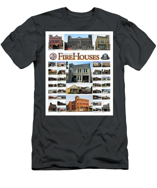 Milwaukee Fire Houses Men's T-Shirt (Athletic Fit)