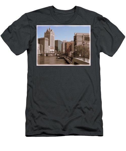Milwaukee Riverwalk Men's T-Shirt (Athletic Fit)