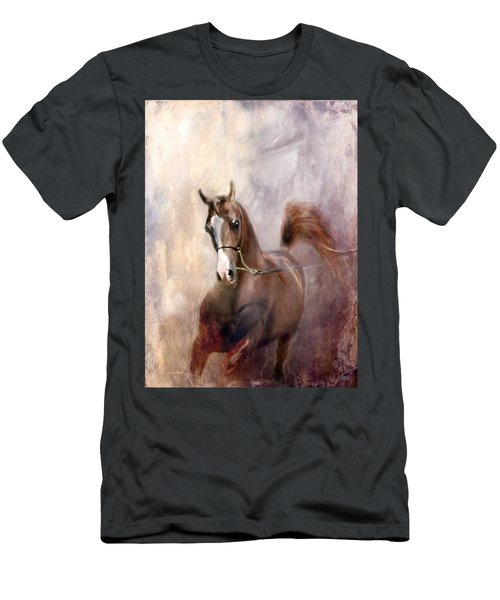 Men's T-Shirt (Slim Fit) featuring the digital art Mind Fed With Hope by Dorota Kudyba
