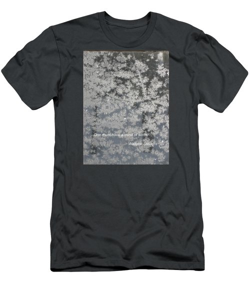 Mind Of Winter Men's T-Shirt (Slim Fit) by Deborah Dendler