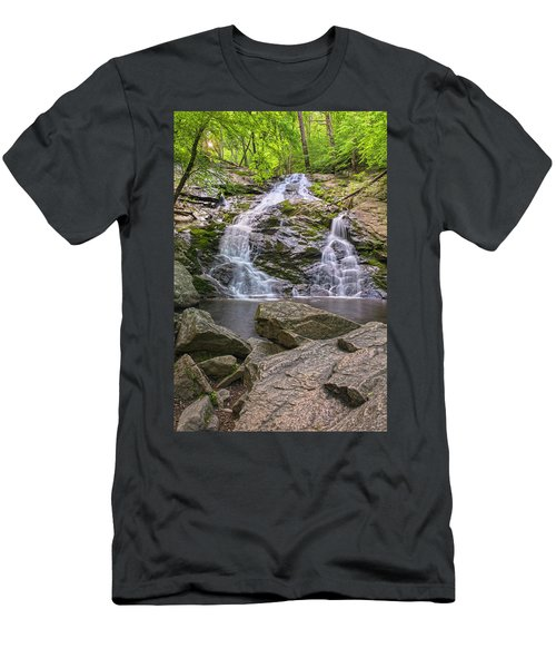 Mineral Springs Vertical Men's T-Shirt (Slim Fit) by Angelo Marcialis