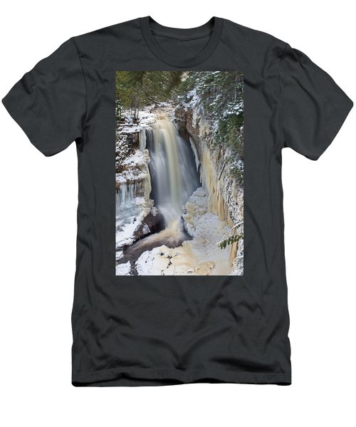 Miners Falls In The Snow Men's T-Shirt (Athletic Fit)