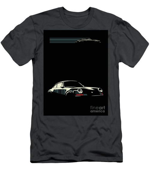 Minimalist Porsche Men's T-Shirt (Athletic Fit)