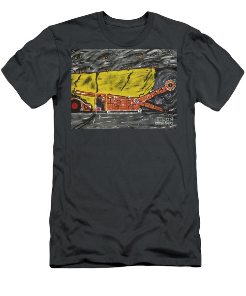 Coal Mining  Men's T-Shirt (Athletic Fit)
