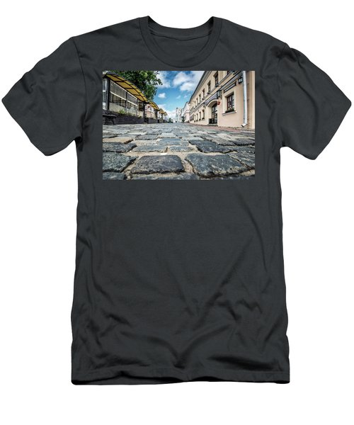 Minsk Old Town Men's T-Shirt (Athletic Fit)
