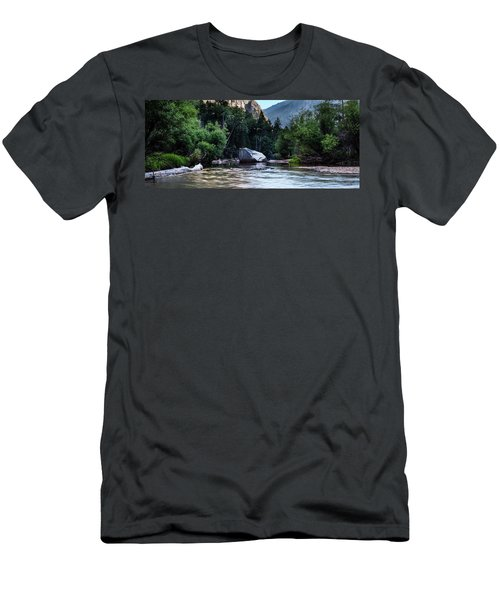 Mirror Lake- Men's T-Shirt (Athletic Fit)
