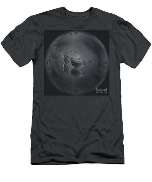 Men's T-Shirt (Slim Fit) featuring the photograph Mirror Me by Shirley Mangini