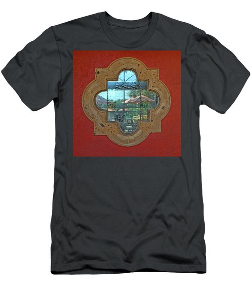 Mirrored Window Men's T-Shirt (Athletic Fit)