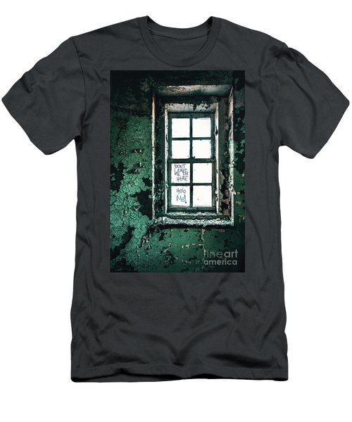 Misery Screams Men's T-Shirt (Athletic Fit)