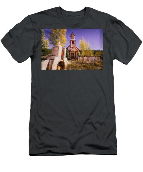 Men's T-Shirt (Athletic Fit) featuring the photograph Mission by Daniel George