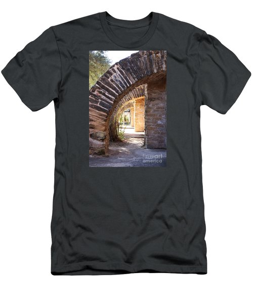 Men's T-Shirt (Slim Fit) featuring the photograph Mission San Jose by Jeanette French