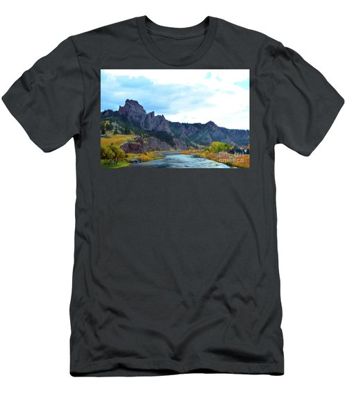 Missouri River Colors Men's T-Shirt (Athletic Fit)