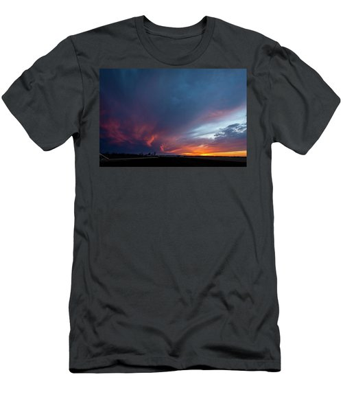 Missouri Sunset Men's T-Shirt (Athletic Fit)