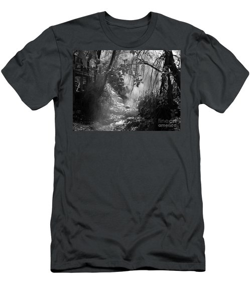 Mist In The Jungle Men's T-Shirt (Slim Fit) by Susan Lafleur