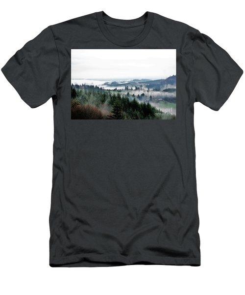 Mist Rising Men's T-Shirt (Athletic Fit)