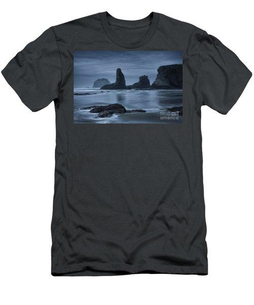 Misty Coast Men's T-Shirt (Athletic Fit)