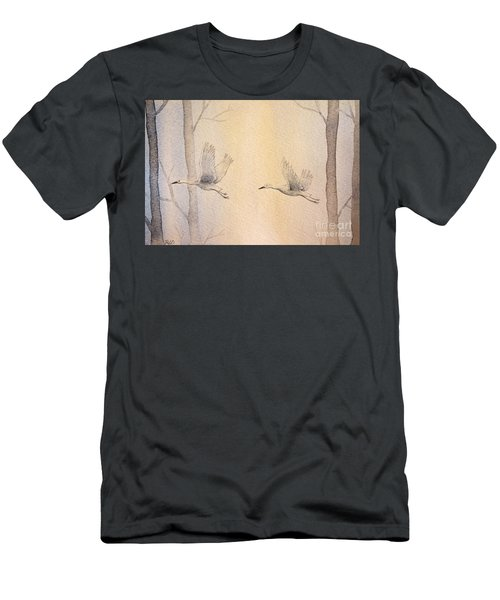 Misty Flight Men's T-Shirt (Athletic Fit)